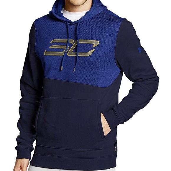 buy online 752dd d9e48 Under Armour Stephen Curry Sc30 Top Gun 11 Hoodie NWT